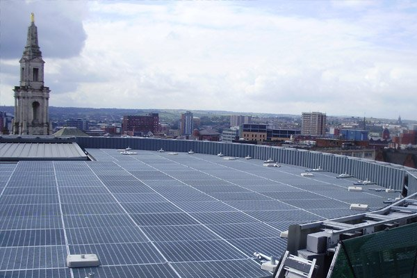 Rooftop Access Walkways Rose Bowl Leeds | Solinear Ltd