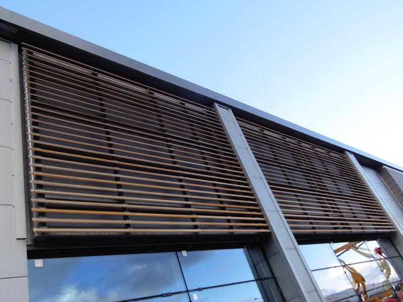 Resina Eco Friendly Louvres Amp Shading Solinear