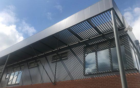 Ambergate bespoke solar shading system-2