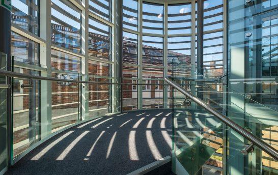 Walthamstow Curved Solar Shading System 3