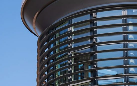 Walthamstow Curved Solar Shading System 5