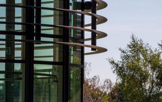 Walthamstow Curved Solar Shading System 6