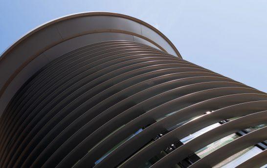 Walthamstow Curved Solar Shading System 7