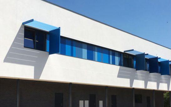 modern solar shading